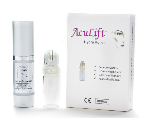 Aculift Hydra Roller and Superb Serum Combo